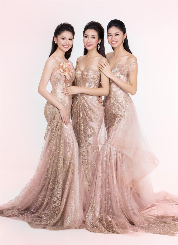 """""""Bộ ba chị em"""" Thùy Dung - Mỹ Linh - Thanh Tú luôn đồng hành cùng nhau trong các sự kiện và dành tình cảm tốt đẹp khi nghĩ về nhau."""