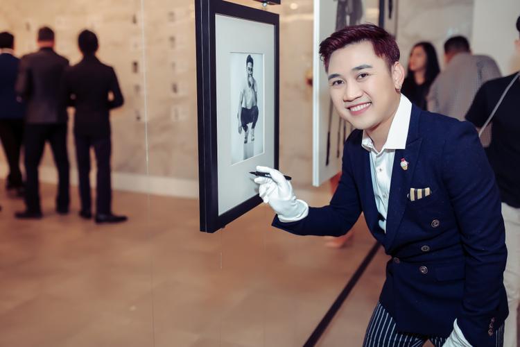 Ca sĩ/diễn viên Don Nguyễn.