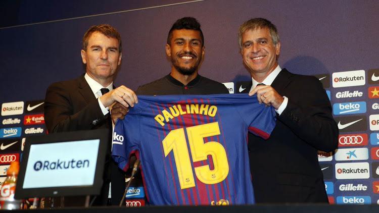 Paulinho được Barca chiêu mộ không phải dành cho nhiệm vụ ghi bàn.