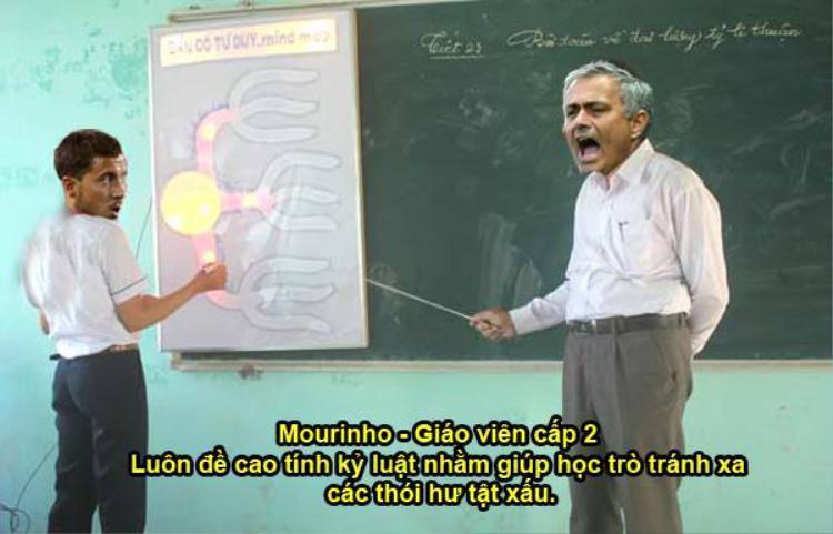 """Mourinho luôn đề cao tính kỷ luật lên hàng đầu. Chính sự nghiêm khắc của ông thầy người Bồ mà các học trò của ông luôn ngoan ngoãn và tránh xa các thói hư tật xấu ngoài sân cỏ. Tuy nhiên đôi lúc việc này cũng phản tác dụng với những """"học sinh"""" quá ngỗ ngáo."""