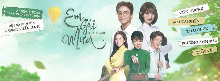 Khán giả sẽ sớm được thưởng thức phiên bản điện ảnh của Em gái mưa vào mùa hè 2018.