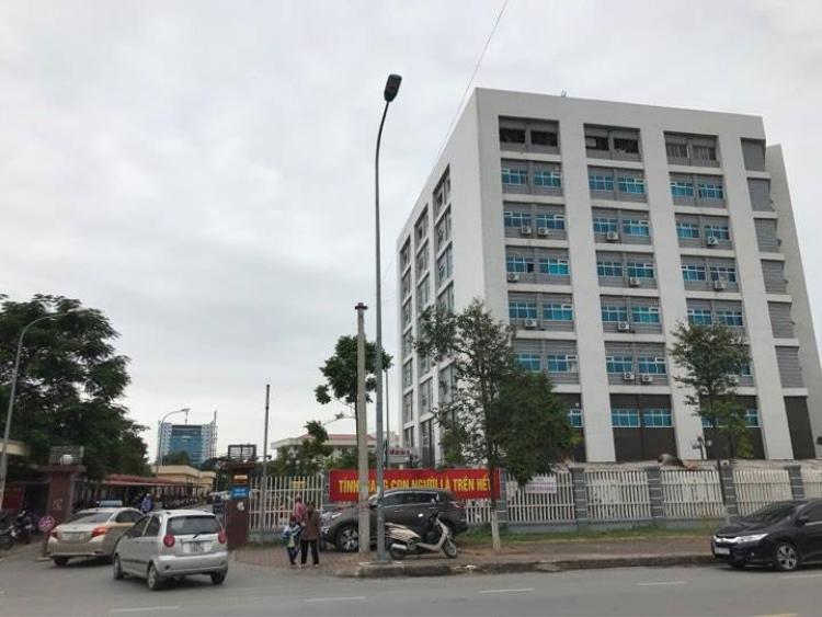 Bệnh viện Sản nhi Bắc Ninh - nơi xảy ra vụ việc.