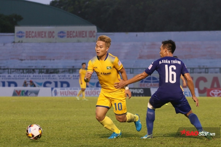 Trần Phi Sơn sẽ rời CLB SLNA vào cuối mùa giải V.League 2017.
