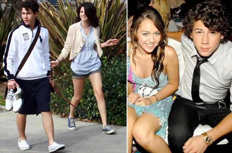 """Nick Jonas được cho là nguồn cơn khiến Miley """"cạch mặt"""" Selena."""