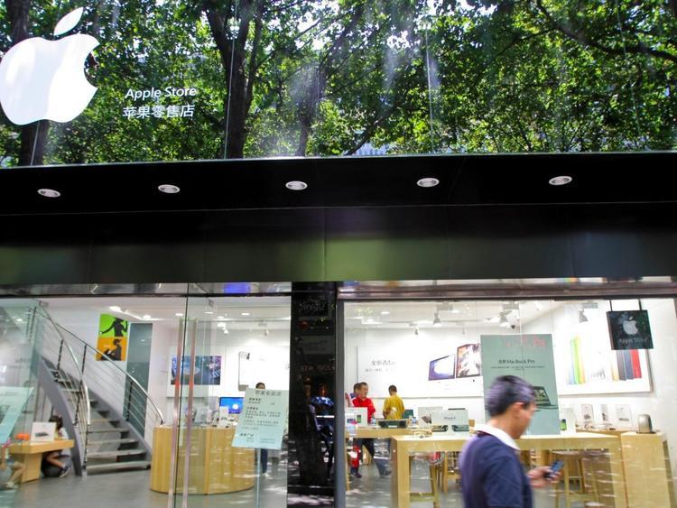 """Thế nhưng, cửa hàng Apple Store """"giả"""" mà như thật nhất ở Trung Quốc lại được cho là một cửa hàng ở Côn Minh, Vân Nam."""