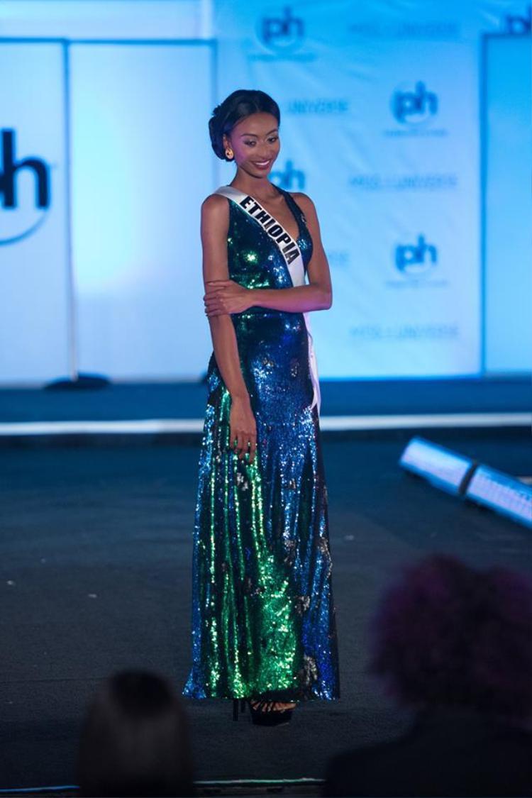 Hoa hậu Ethiopia quá mờ nhạt nếu như không muốn nói rất tầm thường.