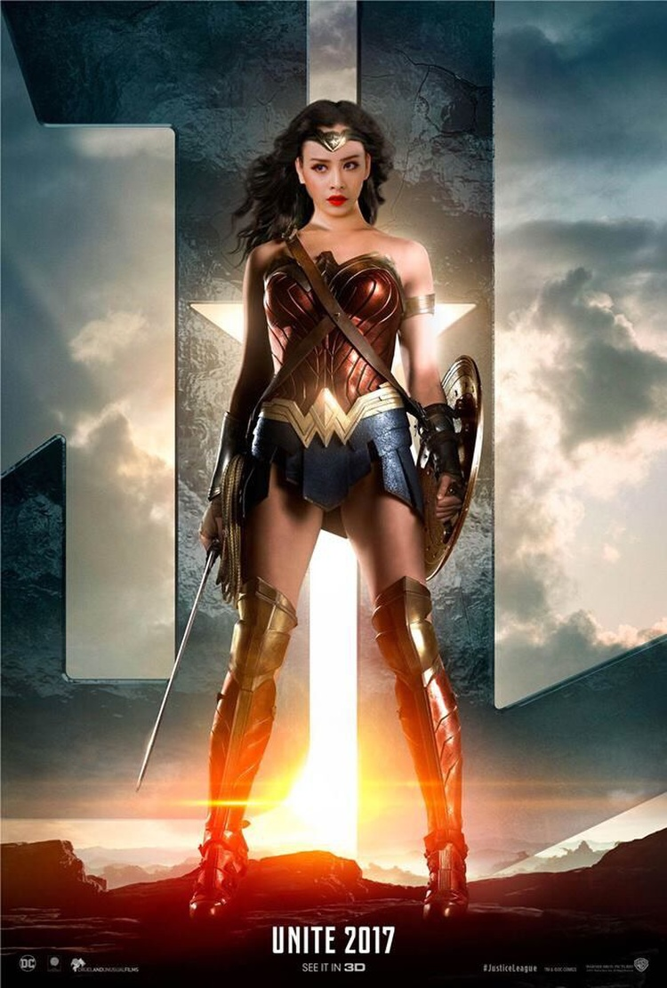 Có vẻ sự đổ dồn của búa rìu dư luận đã biến Chi Pu thanh Wonder Woman?