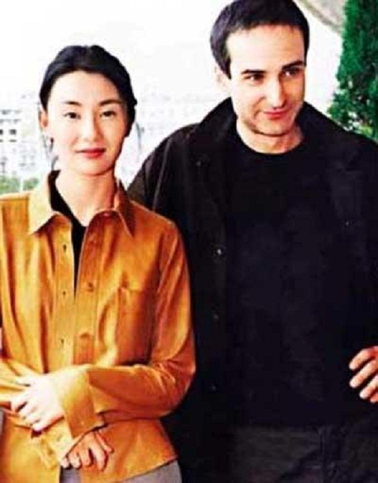 Olivier Assayas và vợ cũ Trương Man Ngọc