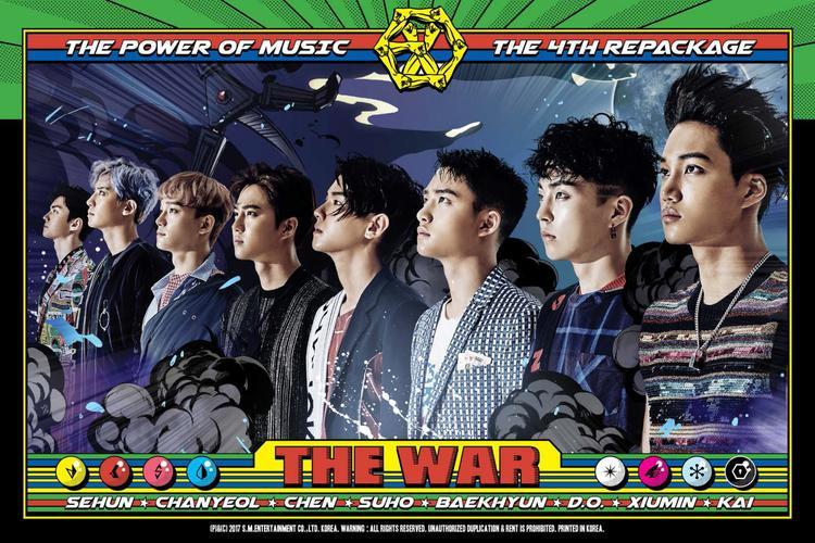 EXO chắc chắn không thể vắng mặt bởi 1 năm làm việc quá hiệu quả cùng full album và repackage vượt ngưỡng triệu bản.