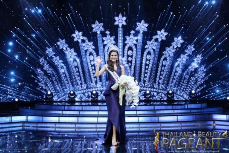 Maria Poonlertlarp Ehren vừa đăng Hoa hậu Hoàn vũ Thái Lan cách đây không lâu. Cô năm nay 25 tuổi, sở hữu chiều cao 1m84 nổi trội.