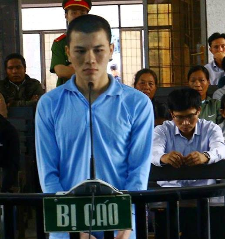 Bị cáo Trang tại phiên tòa phúc thẩm.