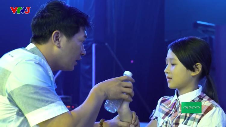 Cả bố con Ngọc Ánh đều có niềm đam mê dành cho âm nhạc.