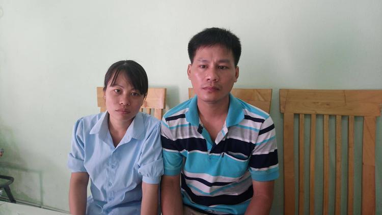 Vợ chồng chị Chung mong muốn sớm đòi lại công lý cho 2 đưa con gái tội nghiệp.