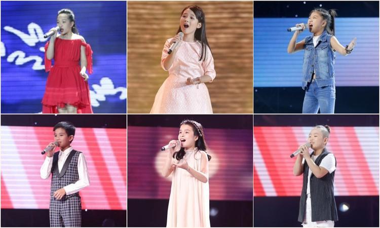 Top 6 thí sinh của chương trình.