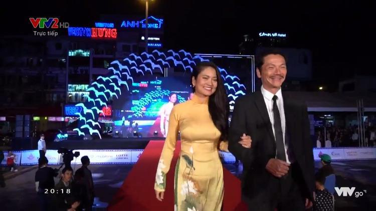 Nghệ sĩ Trung Anh và diễn viên Thúy Hằng.