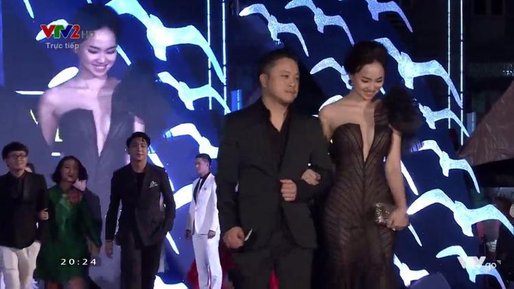Đạo diễn Victor Vũ và phu nhân Đinh Ngọc Diệp.