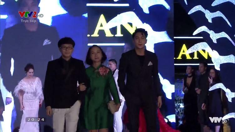 Đạo diễn Vũ Ngọc Phượng và diễn viên B Trần.
