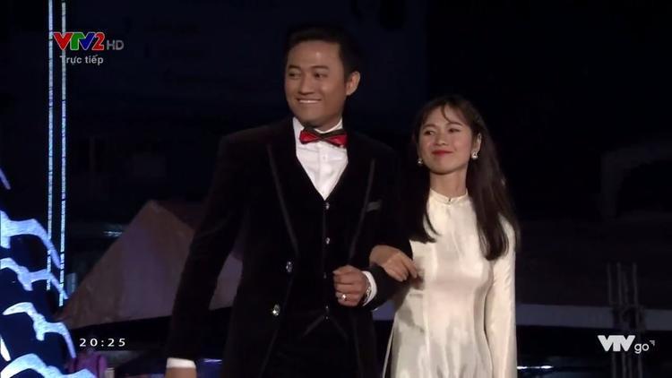 Quý Bình và Oanh Kiều.