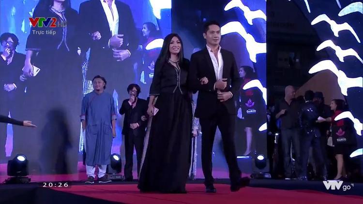 Diễn viên Minh Luân và Phương Thanh.