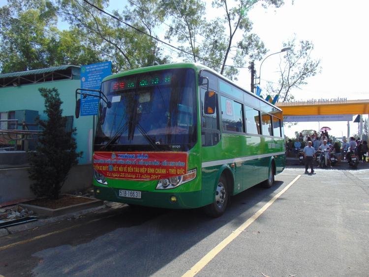 Tuyến xe buýt số 89 thay đổi lộ trình, bến cuối vào đến ga tàu thủy Hiệp Bình Chánh để du khách tiện trong việc đi lại.