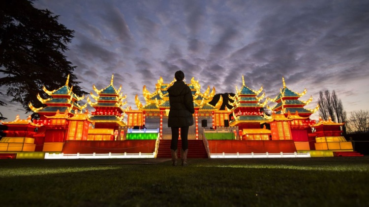 London: Lễ hội đèn lồng ma thuật Chiswick House là một phần hàng năm trong dịp đón năm mới ở London.