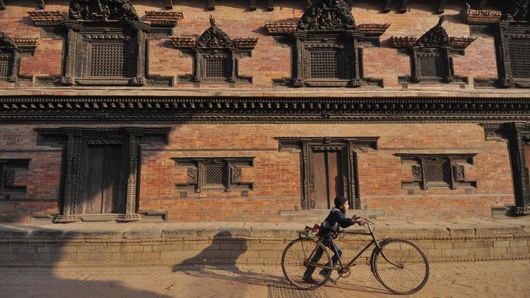 Kathmandu, Nepal:Quảng trường Bhaktapur Durbar là di sản được UNESCO công nhận.
