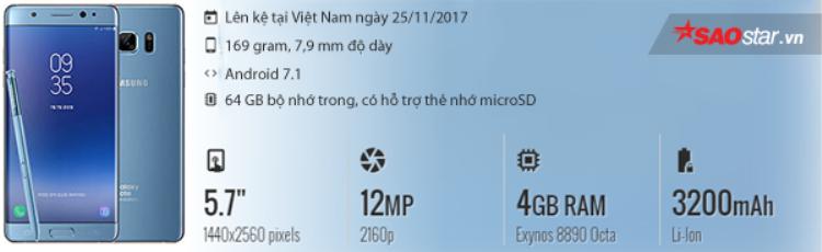 Cận cảnh Galaxy Note FE chính hãng bản màu xanh sang chảnh đầu tiên tại Việt Nam