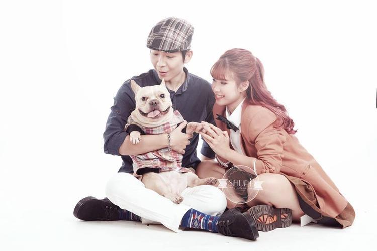 Loạt ảnh cưới siêu dễ thương của Khởi My  Kelvin Khánh