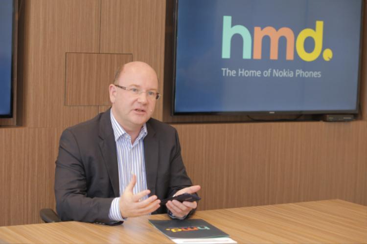 Ông Florian Seiche cởi mở chia sẻ những kế hoạch liên quan đến thương hiệu Nokia tại Việt Nam.