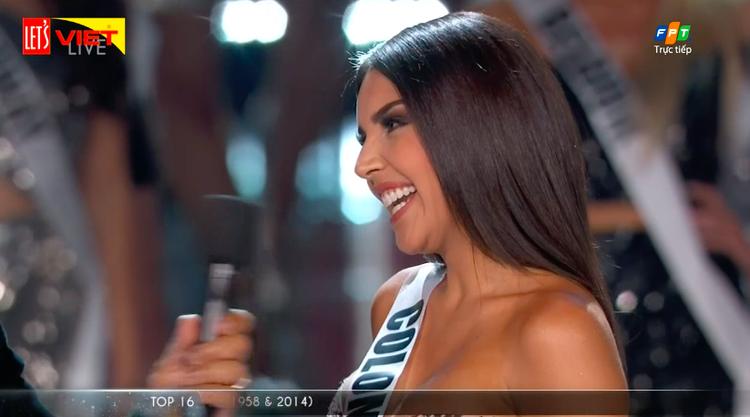 Hoa hậu Hoàn vũ Colombia.