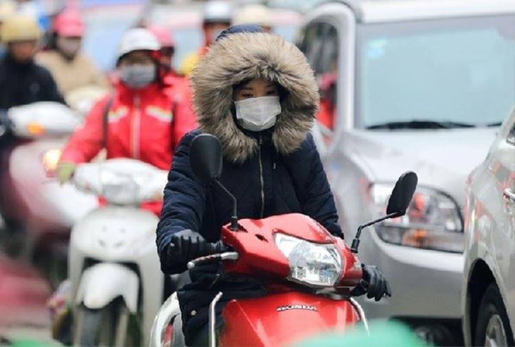 Nhiệt độ Hà Nội tăng từ 2-4 độ.