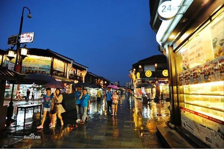 Phố cổ Thanh Hopwh Phong là thiên đường mua sắm ở Hàng Châu.