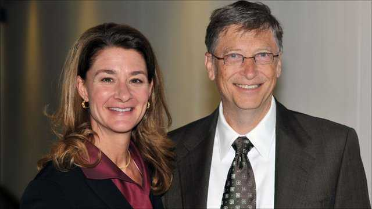 Tỷ phú Bill Gates và phu nhân Melinda.