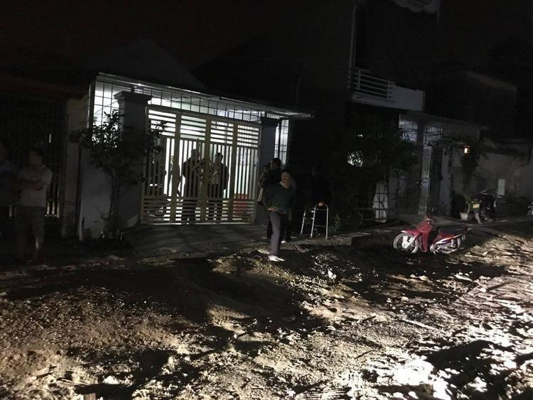 Nhà anh Thuận - nơi cháu bé bị bắt cóc và sát hại.