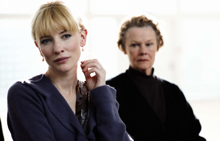 Judi Dench trong Notes on a Scandal