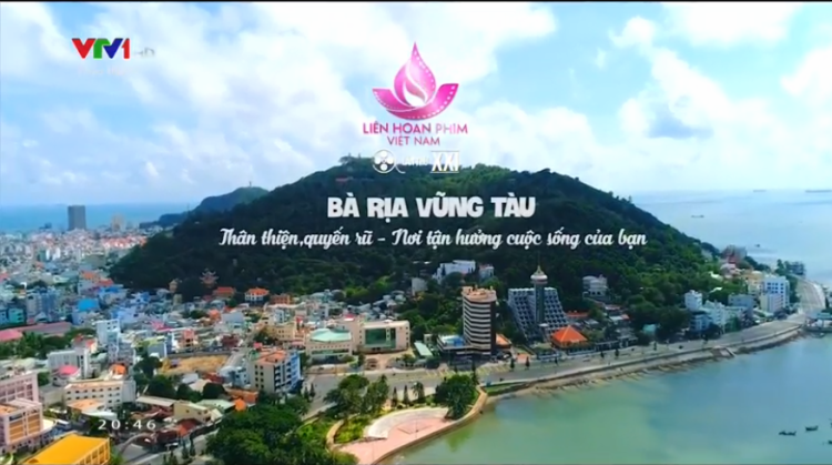 Bà Rịa Vũng Tàu xuất hiện trên video giới thiệu địa điểm đăng cai LHP Việt Nam kế tiếp.