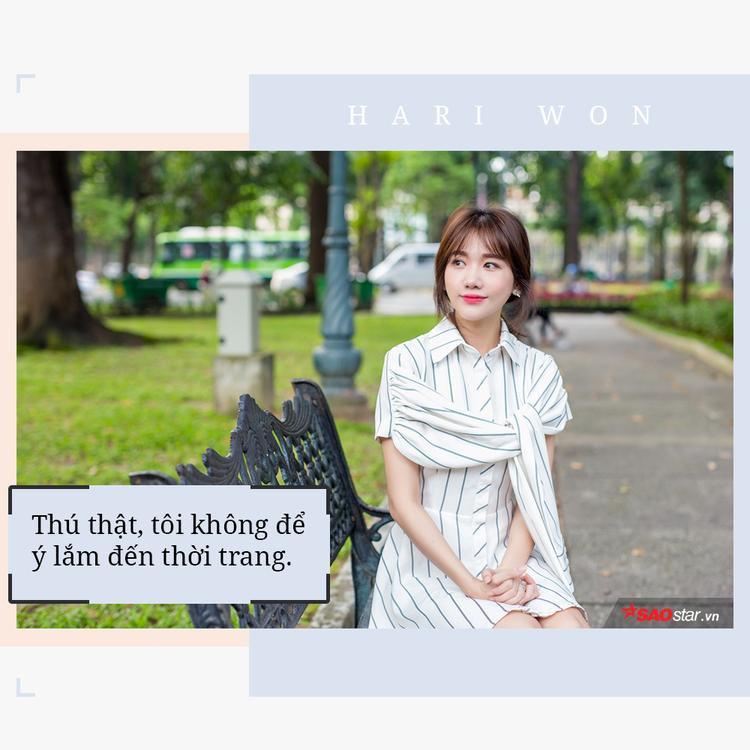 Hari Won: Tôi thường xuyên bị đồng nghiệp nữ chặt chém về hàng hiệu