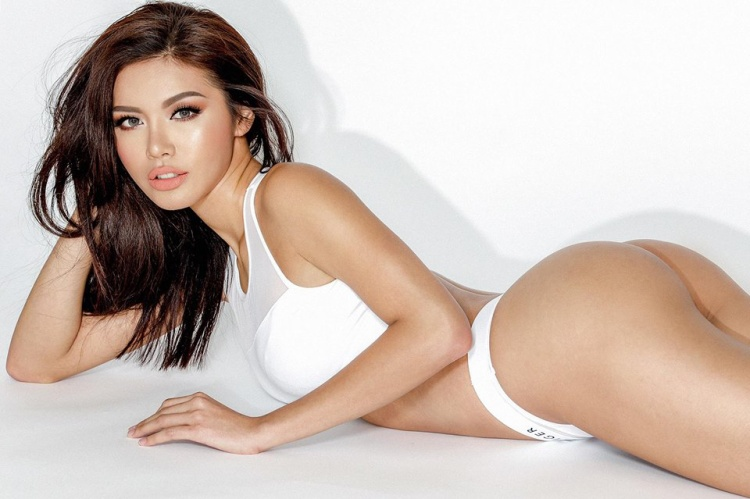 Với số đo 3 vòng86-59-94 cm, Minh Tú là một ví dụ điển hình cho việc nhờ thay đổi sang lối sống lành mạnh mà ngoại hình thay đổi rõ rệt.Theo Minh Tú, vòng 3 là bộ phận quan trọng nhất khi bạn muốn diện bikini đẹp.
