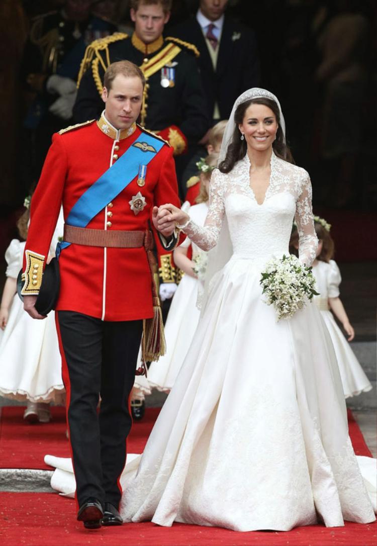 Hoàng tử William và Công nương Kate tổ chức đám cưới năm 2011.