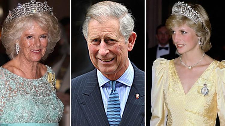 """Chuyện tình tay ba giữa Thái tử Charles, cố Công nương Diana và Camilla Parker Bowles có lẽ được coi là mối tình ngốn nhiều giấy mực của báo chí. Vào năm 1977, Thái tử Charles nên duyên vợ chồng cùng với cố Công nương Diana, tuy nhiên trong trái tim của ông chỉ tồn tại hình bóng của Camilla Parker Bowles, người mà ông đã """"yêu ngay từ cái nhìn đầu tiên"""" vào năm 1971. Ngay cả cố Công nương Diana cũng biết phu quân của bà chưa quên được tình cũ. Năm 1995, Camilla ly hôn. Tháng 8/1996, cuộc hôn nhân của công nương Diana và thái tử Charles cũng chính thức tan vỡ. 12 tháng sau, công nương Diana qua đời trong một vụ tai nạn ôtô. Đến tháng 4/2005, Thái tử Charles và Camilla chính thức về chung một nhà trong một đám cưới Hoàng gia giản dị nhưng ấm áp. Không phô trương như đám cưới trước, nhưng Thái tử thật sự cảm thấy hạnh phúc khi được kết hôn với Camilla - người mà ông vẫn luôn hướng về suốt 3 thập kỷ. Ông từng nói:"""" Giờ đây, người tôi yêu là bà Parker Bowles. Cô ấy là bạn của tôi một thời gian dài và mãi mãi kể từ bây giờ""""."""