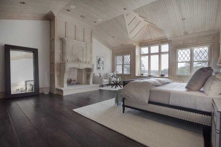 Phòng ngủ được thiết kế độc đáo.
