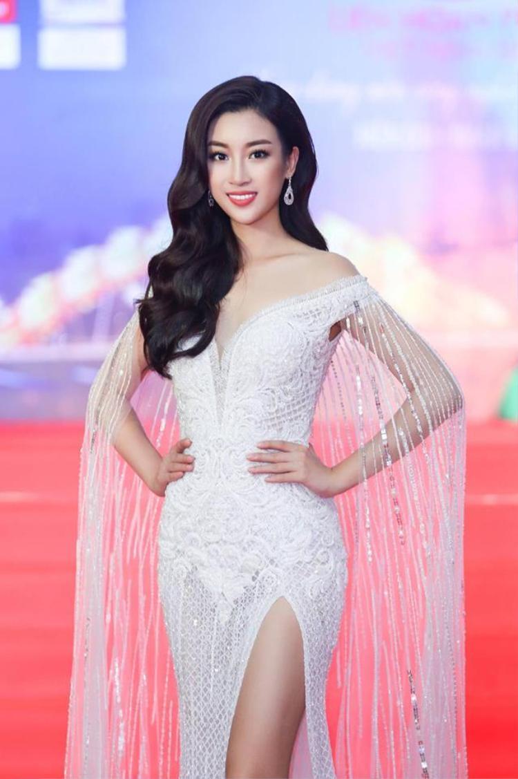 Trở về từ cuộc thi Hoa hậu Thế giới, Đỗ Mỹ Linh ngay lập tức tham gia vào các hoạt động xã hội giúp hình ảnh của cô ngày càng đẹp trong lòng công chúng. Đây là sự xuất hiện đầu tiên, người đẹp được đánh giá ngày càng quyến rũ.