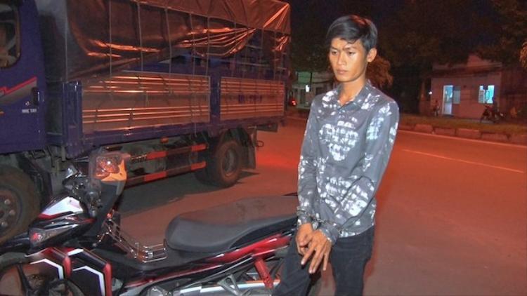 Nguyễn Thanh Lợi khi bị bắt