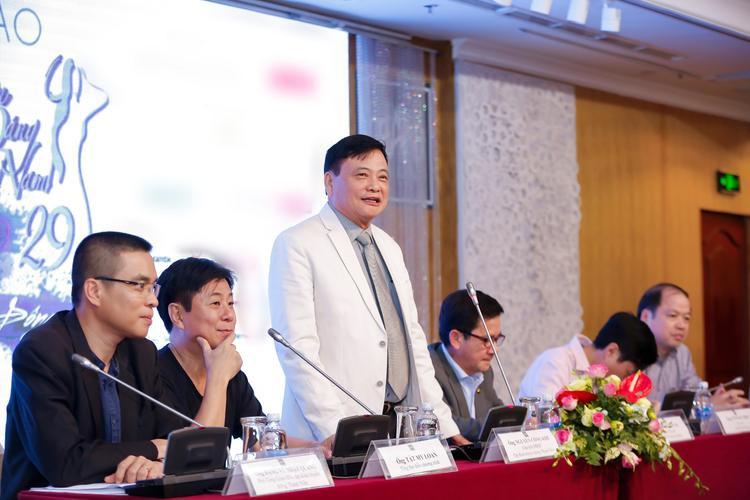 Buổi họp báo giới thiệu chương trình Duyên dáng Việt Nam 29được diễn ra tại TP HCM.