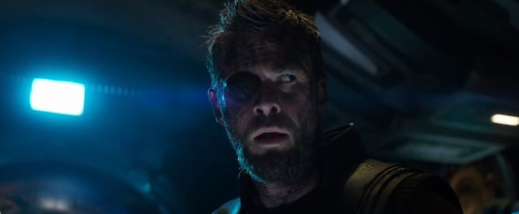 Thor bị chột mắt sau sự kiện Ragnarok