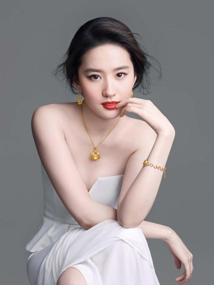 Vẻ đẹp mặn mà cấp bậc nữ thần của Lưu Diệc Phi