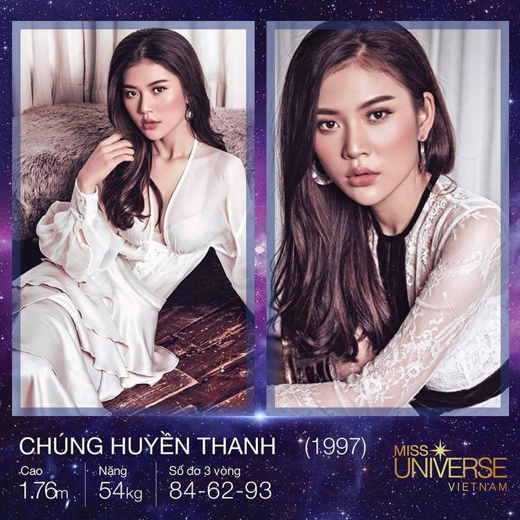 Chúng Huyền Thanh được đánh giá là một trong những ứng cử viên sáng giá của cuộc thi Hoa hậu Hoàn vũ Việt Nam 2017.