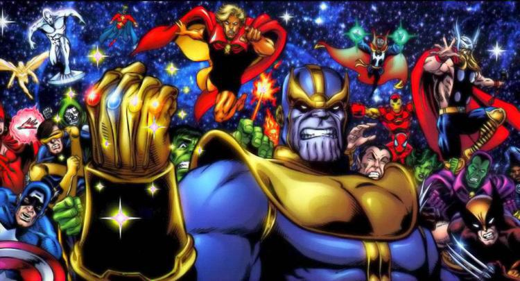 Thanos hoàn thành chiếc Găng Vô Cực