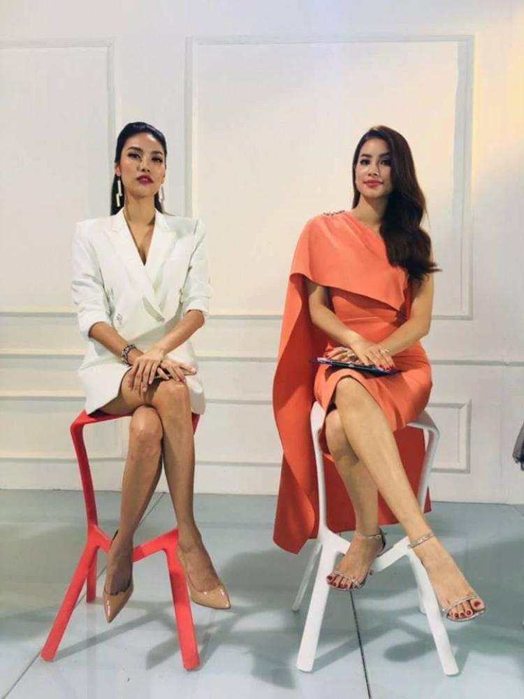 Hoa hậu Hoàn vũ Việt Nam 2015 diện trang phục này trong tập 1 The Look 2017.