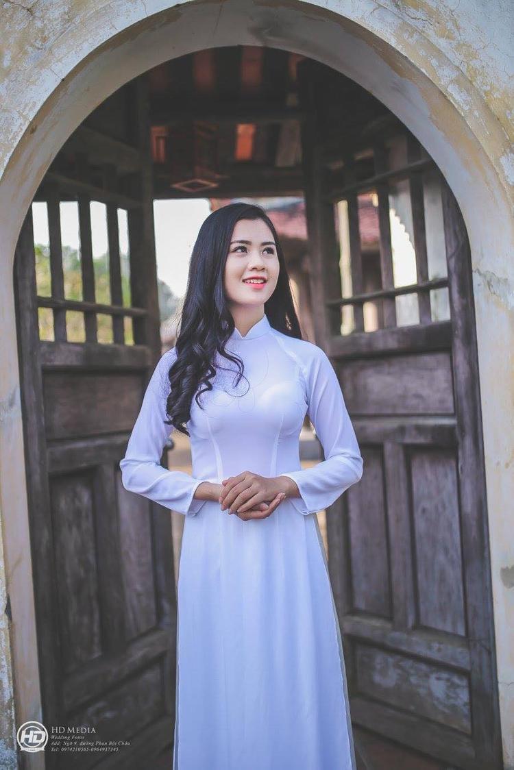Vợ tương lai của Quế Ngọc Hải. Ảnh: FBNV